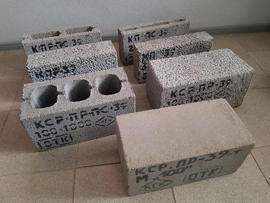 Блоки стеновые из керамзитобетона основание из цементного раствора